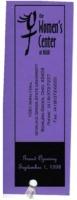 Grand opening bookmark