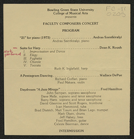 Faculty Composers Concert