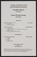 Aurelian Oprea, Karen Picard-Young