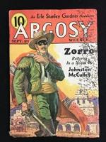 Johnston McCulley's The Mark of Zorro, Argosy September 1935.