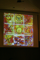 Images from Pola Lopez's keynote presentation at the 16th Latino/a/x Issues Conference
