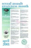 Sexual assault awareness month calendar of events