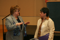Picture of  Dr. Katia Paz Goldfarb at 2007 Latino Issues Conference