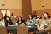 Audience at 13th Latino Issues Conference in 2007