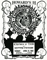 Charlotte's Webb, Rotten Excuse - Howard's Club H, 4/14/92