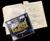 Battlestar Galactica and Starfleet Blueprints