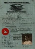 U.S. Passport for Dora Giffen