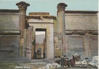 Medinet Habout Postcard