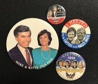 President and First Ladies together on buttons Collection