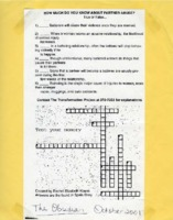 Crossword puzzle on domestic violence facts
