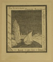 Maurice Baring Bookplate