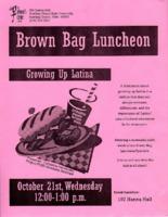 Brown bag luncheon flier