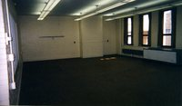 Empty office space that became the Women's Center.