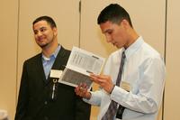 Kiko Chalupa and Lee Rincon at 2007 Latino Issues Conference
