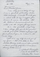 Alumna letter to President Jerome