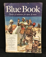 Blue Book pulp adventure fiction