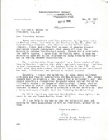 Letter from Irvin H. Brune to BGSU President William T. Jerome
