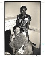 Elsie B. Washington and Vivian Stephens