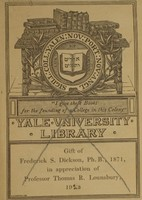 Yale University Library Bookplate