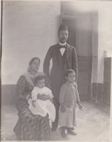 Rev. Morad Sitt Farclous And Family