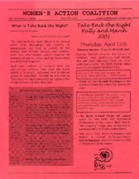 Flier from Women's Action Coalition