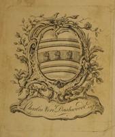 Charles Vere Dashwood Esq. Bookplate