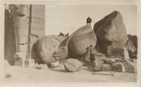 Fallen Statue of Ramses II, Thebes