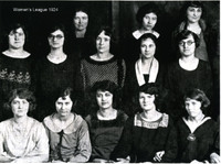 Women's League, 1924