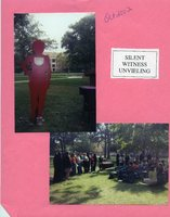 Photographs from Silent Witness unveiling