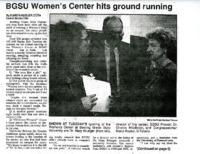 """""""BGSU Women's Center hits ground running"""""""