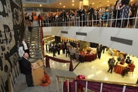 Centennial Homecoming ceremony in Jerome Library