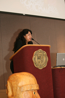 Keynote Speaker Pola Lopez at the 16th Latino/a/x/ Issues Conference