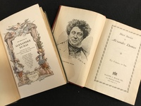 Frontispiece for two books by Alexandre Dumas