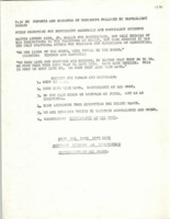 Flyer outlining guidelines and schedule for a candlelight parade through Bowling Green