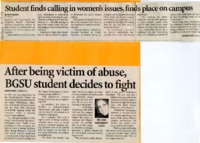 """Student finds calling in women's issues, finds place on campus"""