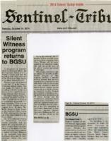 """Silent Witness program returns to BGSU"""