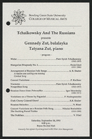 Tchaikowsky and the Russians