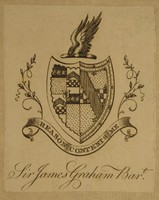 Sir James Graham Bart Bookplate