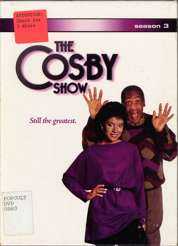Cosby Show DVD cover (group F)