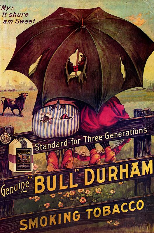 Bull Durham ad (poster) (group D)