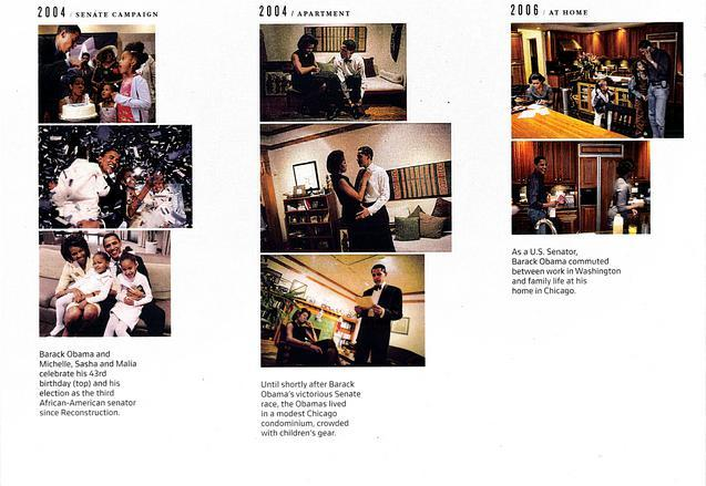photos of Obama in New York Times Magazine (group F)