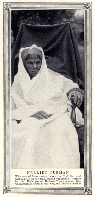 Harriet Tubman photo from American Magazine p423 (group A)
