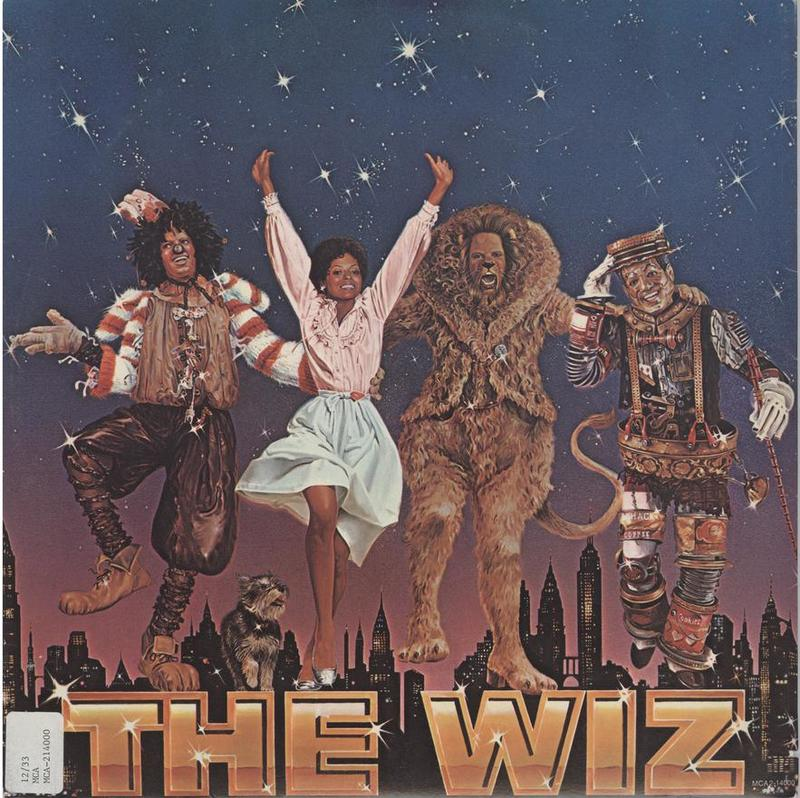 The Wiz soundtrack - cover (group 4)