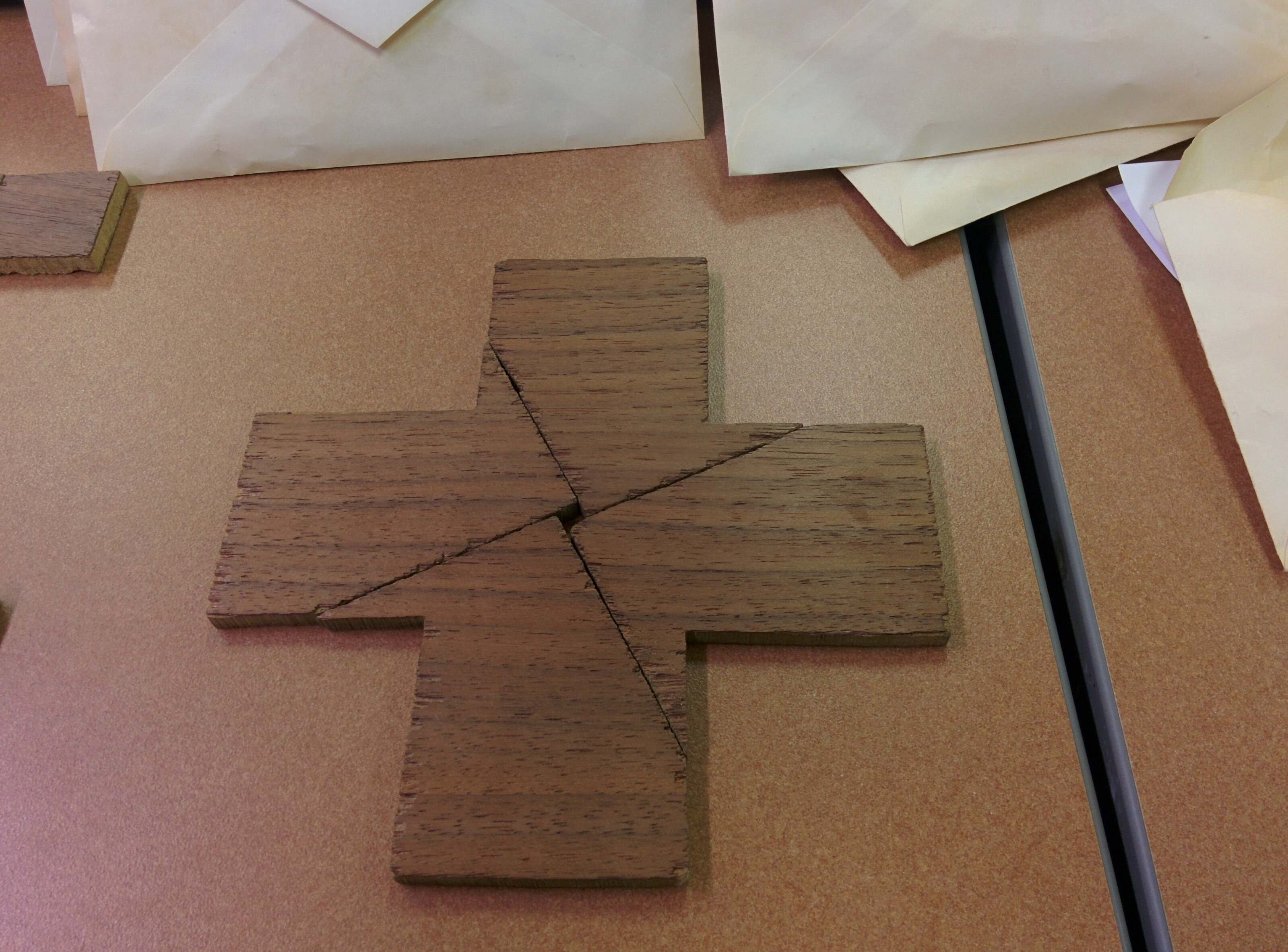 The Greek Cross and Square puzzle · Literacy Artifacts