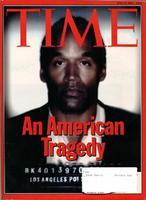 TIME Magazine Cover 1994 O.J. Simpson