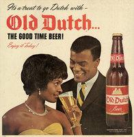 Old Dutch Beer Advertisement