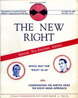 The New Right cover Oct. 23, 1968