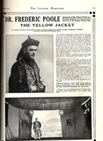 "Dr. Frederic Poole: ""The Yellow Jacket"""