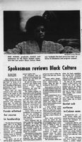 An article reviewing the Black Culture week at Bowling Green State University in 1971