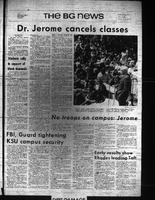 BG News, May 6, 1970, Cancellation of Classes and Black Demands